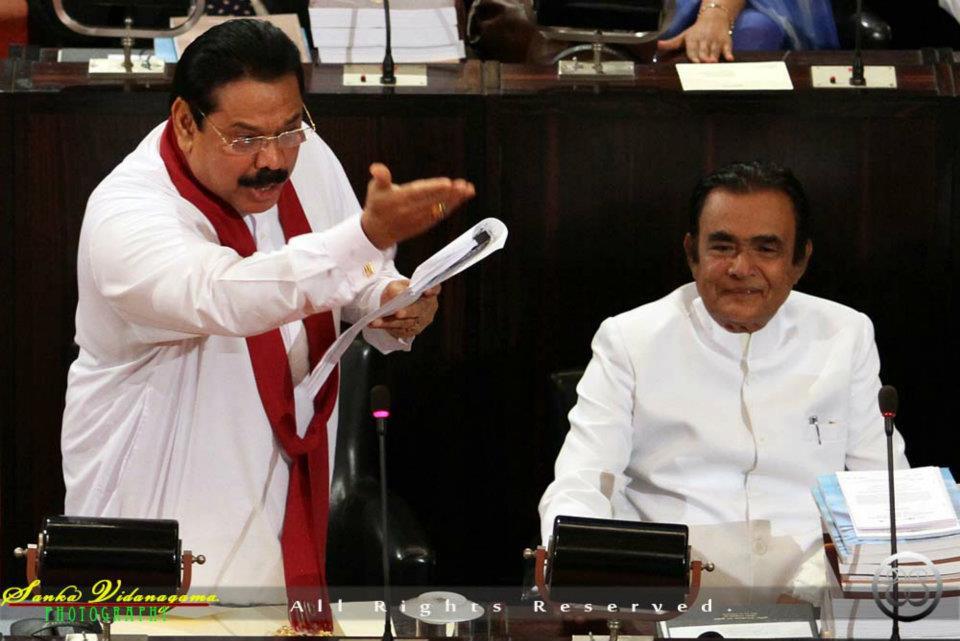 Mahinda Rajapaksa - colombo telegraph