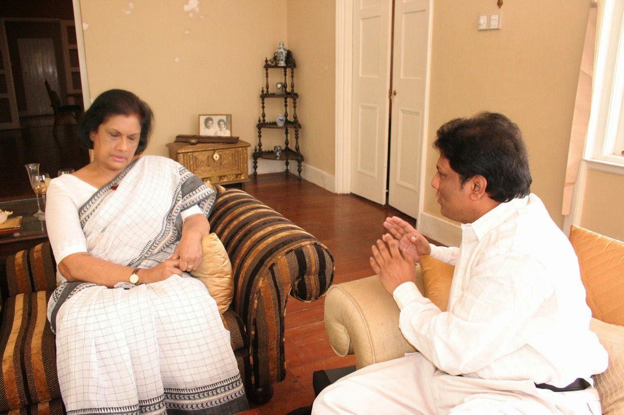 Chandrika and Lasantha