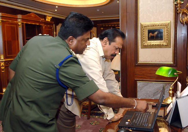 545bd sri lanka brg smarasinghe   mahinda rajapaksa colombotelegraph Barking Up The Jilmart Tree