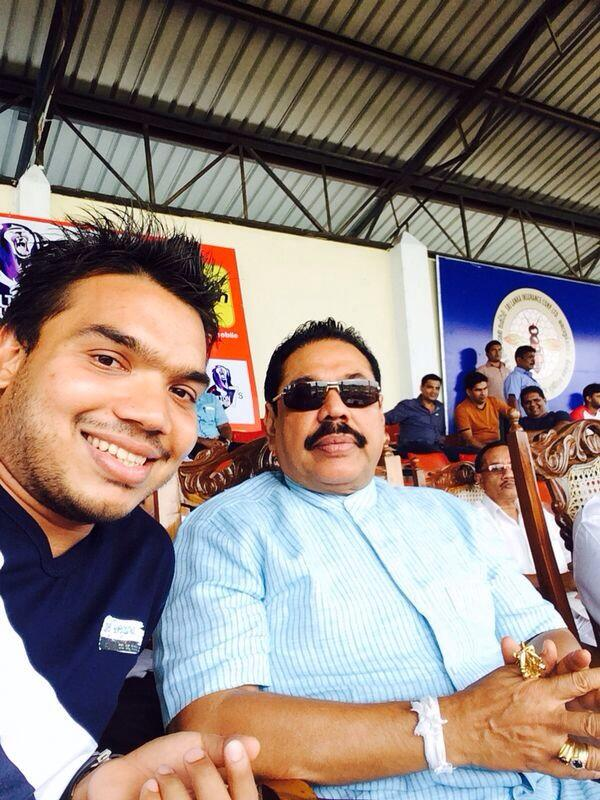 809c9 sri lanka Namal and Mahinda Namal Has No Inhibitions About Discussing His Profitable Organization Offers