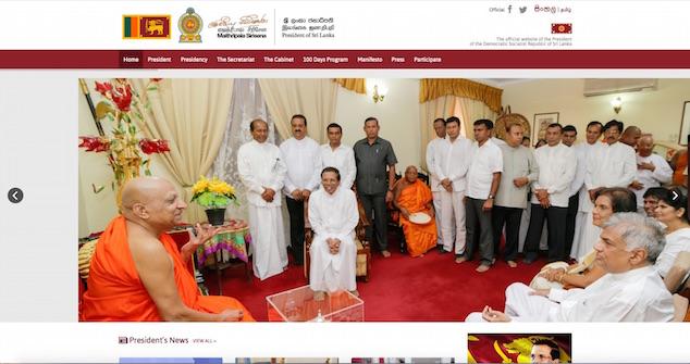Maithripala president.lk June 2015