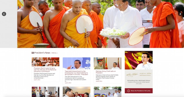 Maithripala web