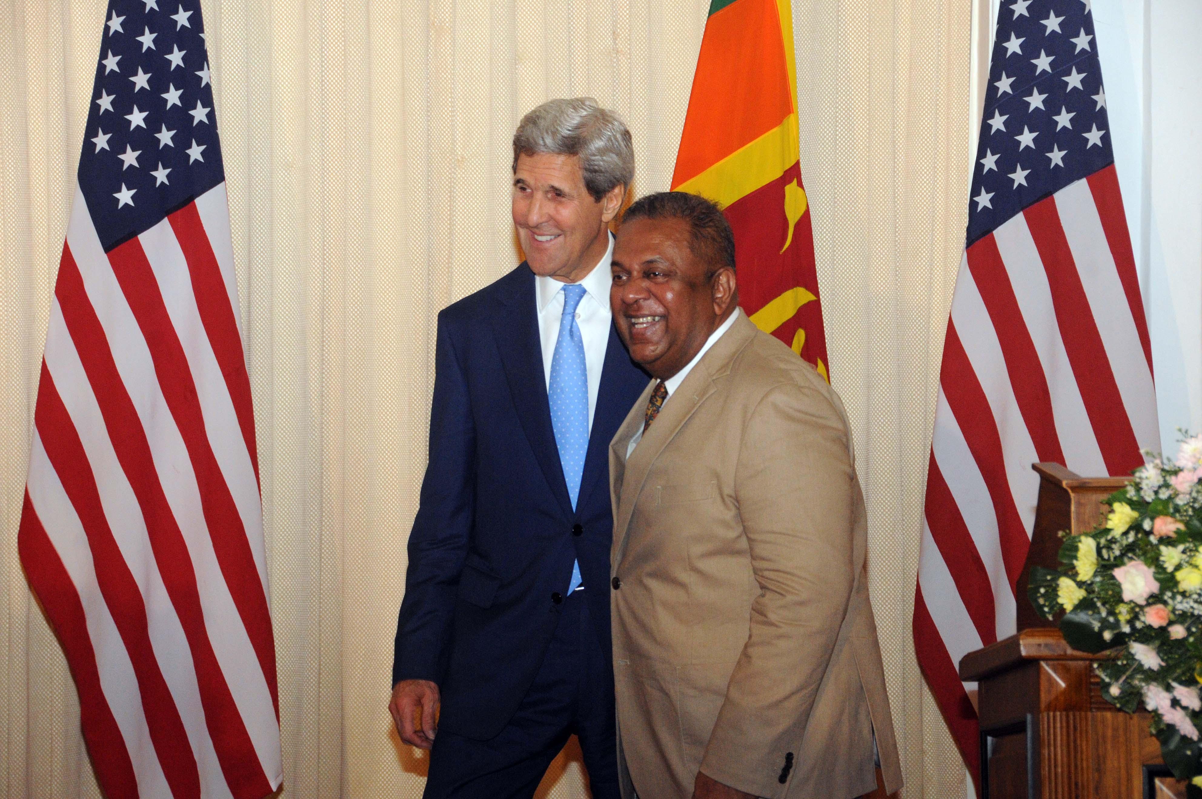 Kerry and Mangala 02 05 2015 Colombo Telegraph