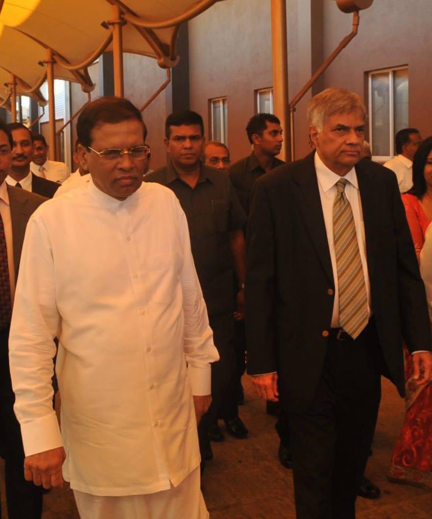 Ranil and Maithri