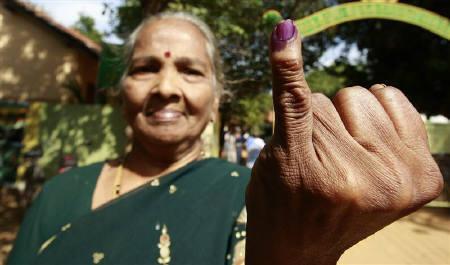 Tamil Vote Photo CREDIT- REUTERS:DINUKA LIYANAWATTE