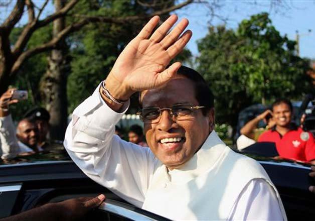 New President Maithripala Srisena