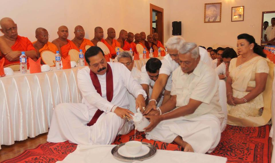 f4776 sri lanka Mahinda Family 1 Save The SLFP From The Rajapaksa Dynasty